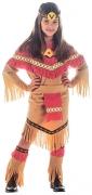 Vous aimerez aussi : Déguisement indienne marron et rouge fille