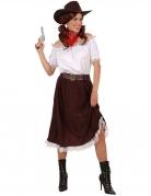 Vous aimerez aussi : Déguisement cowgirl blanc et marron femme