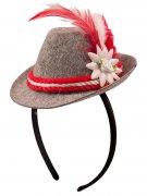 Vous aimerez aussi : Mini chapeau bavarois gris et rouge femme