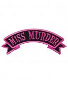 Vous aimerez aussi : Patch gothique Miss Murder rose et noir