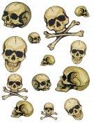 Vous aimerez aussi : Set stickers autocollants crânes d'Halloween