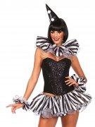 Kit accessoire clown arlequin femme