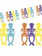 Vous aimerez aussi : Guirlande squelettes colorés Dia de los muertos Halloween