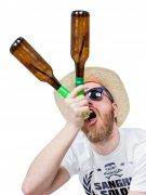 Porte bouteille de bière Headrush Beer bong®