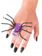 Vous aimerez aussi : Bague araignée noire et violette Halloween