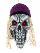 Vous aimerez aussi : Décoration crâne pirate terreur des mers 42 x 22 cm