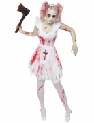 Vous aimerez aussi : Déguisement demoiselle d'honneur zombie femme Halloween