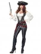 Déguisement pirate femme gris
