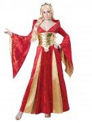 Vous aimerez aussi : Déguisement reine médiévale rouge femme