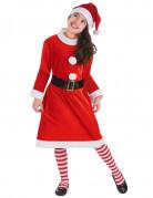 Vous aimerez aussi : Déguisement Mère Noël pompons blancs Fille