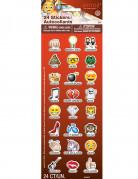 Vous aimerez aussi : 24 Stickers autocollants Emoji ™ avec noms