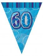 Vous aimerez aussi : Guirlande fanions bleu Age 60 ans 2,74m