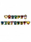Guirlande lettres Smiley Emoticons™ 193 cm