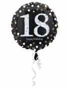 Vous aimerez aussi : Ballon Aluminium Happy Birthday holographique 18 ans