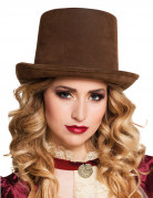 Vous aimerez aussi : Chapeau haut de forme marron adulte Steampunk