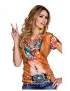 T-shirt hippie à gilet femme