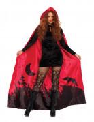 Vous aimerez aussi : Cape luxe rouge femme