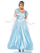 Déguisement princesse robe bleue grande taille femme