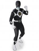 Déguisement seconde peau Power Rangers™ noir homme