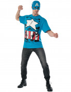 Vous aimerez aussi : T-shirt et masque Captain America™ Avengers™ adulte