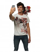 Vous aimerez aussi : T-shirt selfie clown effayant adulte