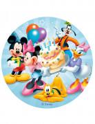 Disque azyme anniversaire Mickey™  20 cm aléatoire