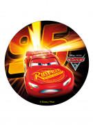 Disque en sucre Cars 3™ 20 cm