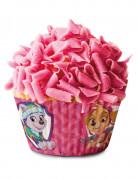 50 Moules à cupcake en papier Pat'Patrouille™