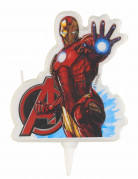 Bougie anniversaire Iron Man™ Avengers™