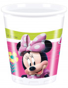 8 Gobelets en plastique 20 cl Minnie Happy ™