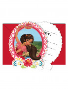6 Invitations + enveloppes Elena d'Avalor ™