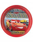 8 Assiettes en carton Cars 3™ 23 cm