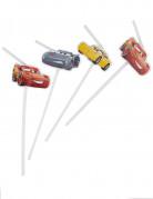 6 Pailles médaillon Cars 3 ™