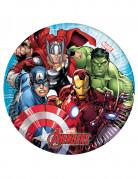 Vous aimerez aussi : 8 Petites assiettes en carton Avengers Mighty ™ 20 cm