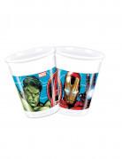 8 Gobelets en plastique 200 ml Avengers Mighty ™