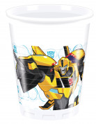 8 Gobelets en plastique200ml Transformers RID ™
