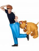 Déguisement Bulldog gonflable adulte