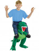 Déguisement humain à dos de dinosaure enfant