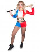 Vous aimerez aussi : Déguisement arlequine psychopathe rebelle femme