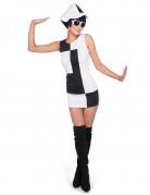 Vous aimerez aussi : Déguisement disco bicolore femme