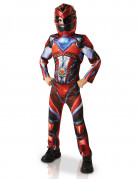 Déguisement luxe Power Rangers™ rouge enfant
