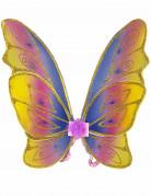 Ailes papillon pastel avec paillettes fille