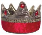 Couronne roi chevalier rouge enfant