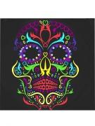 Vous aimerez aussi : 20 Serviettes en papier squelette coloré Dia de los muertos 33 x 33 cm