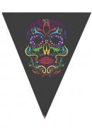 Vous aimerez aussi : Guirlande fanions squelette coloré Halloween 190 cm