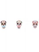 Guirlande Squelette coloré Dia de los muertos 3 mètres