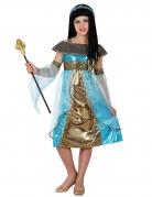 Déguisement égyptienne bleue fille