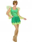 Déguisement fée sexy verte femme