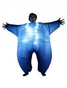 Déguisement gonflable et lumineux bleu adulte Morphsuits™