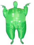 Déguisement gonflable et lumineux vert adulte Morphsuits™